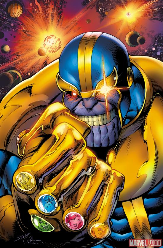 Thanos by Mark Bagley