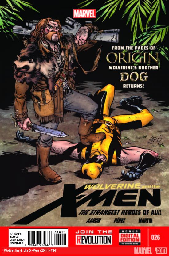 Wolverine & the X-Men #26 cover