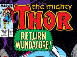 Thor (1966) #406 Cover