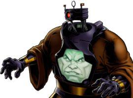 Arnim Zola character model from Marvel: Avengers Alliance