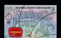 Fantastic Four (1961) #400 Cover