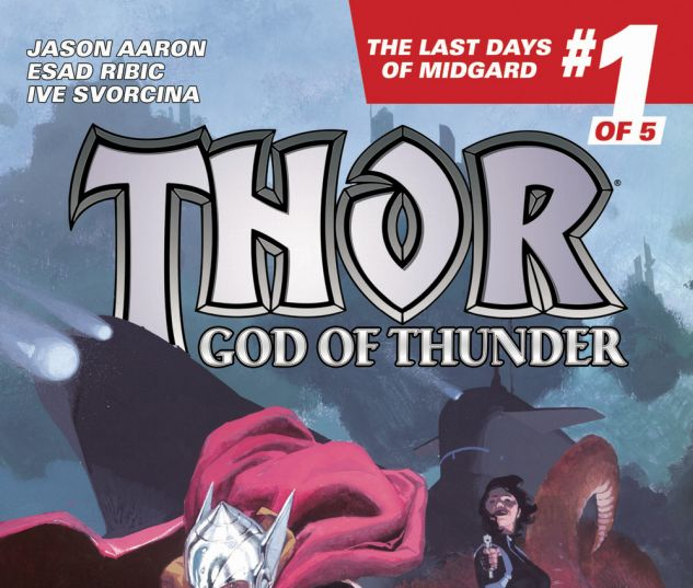 Thor: God of Thunder #19.NOW cover by Esad Ribic