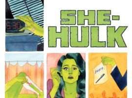 She Hulk #2 second printing cover by Kevin Wada