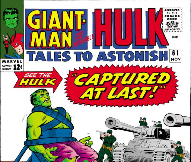 Tales to Astonish (1959) #61 Cover