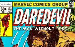 Daredevil (1963) #143 cover