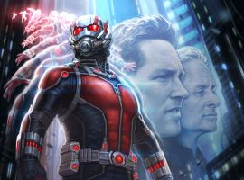 SDCC exclusive concept art poster for Marvel's Ant-Man by Andy Park