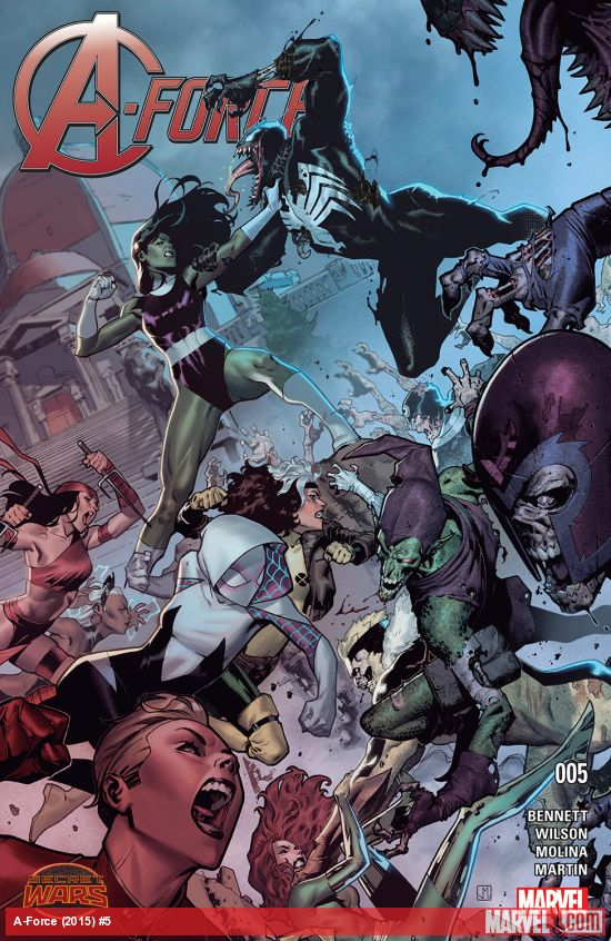 Secret Wars A-Force Tome 05 French