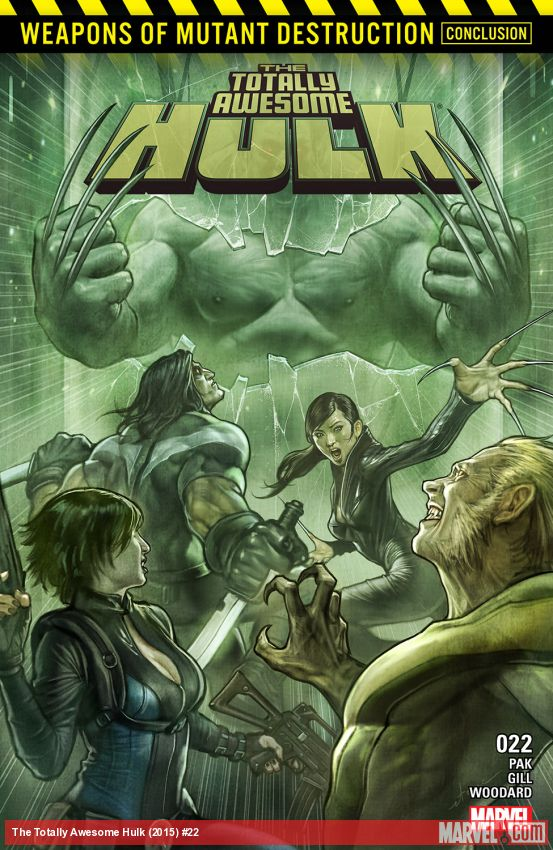 The Totally Awesome Hulk (2015) #22
