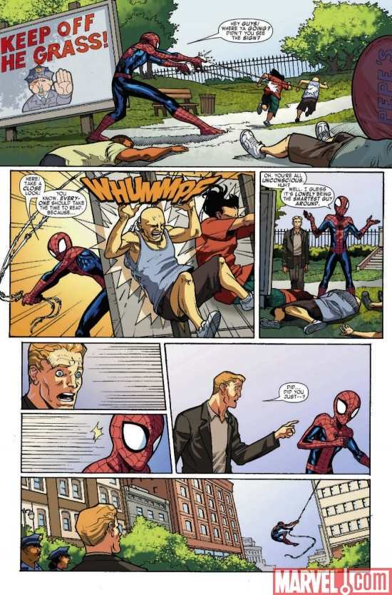 MARVEL ADVENTURES SPIDER-MAN #54, page 6