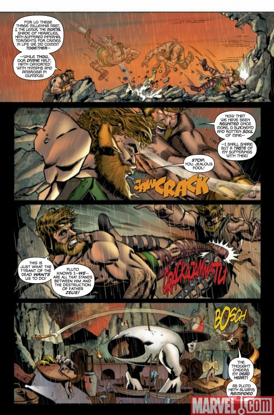 INCREDIBLE HERCULES #131, page 4