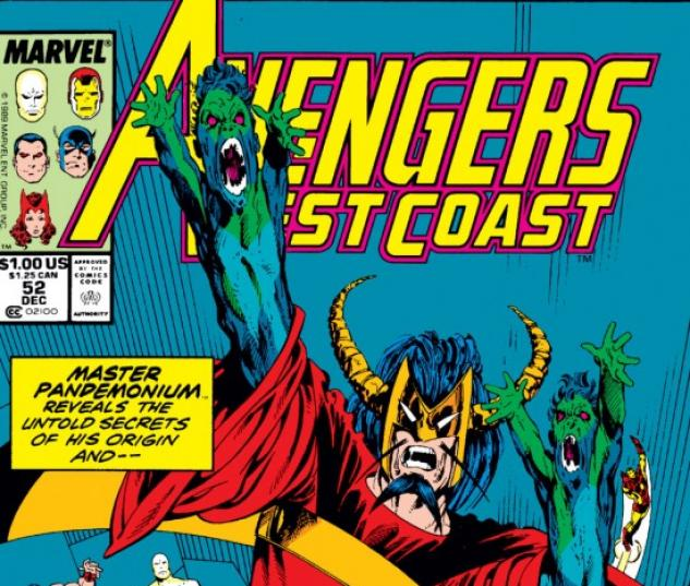 Avengers West Coast #52