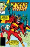 Avengers West Coast #52