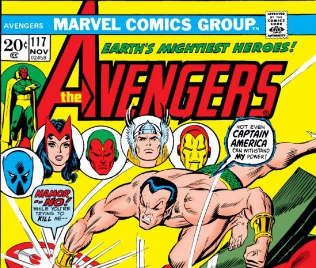 AVENGERS (2009) #117 COVER
