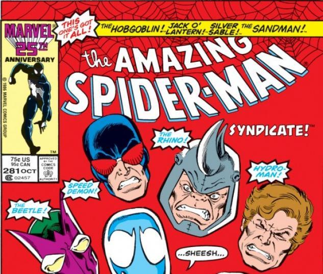 AMAZING SPIDER-MAN (2000) #281 COVER