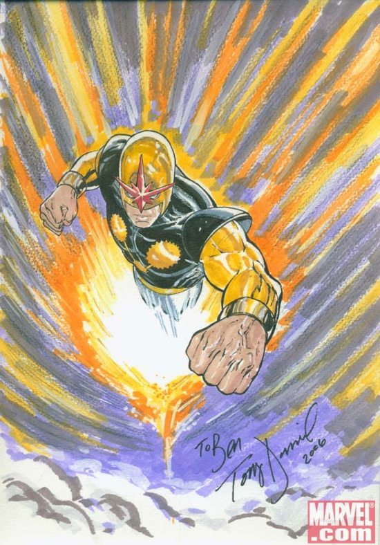 Nova by Tony Daniel from Ben Morse's personal collection