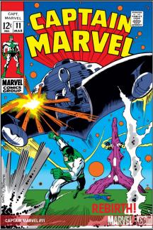 Captain Marvel (1968) #11