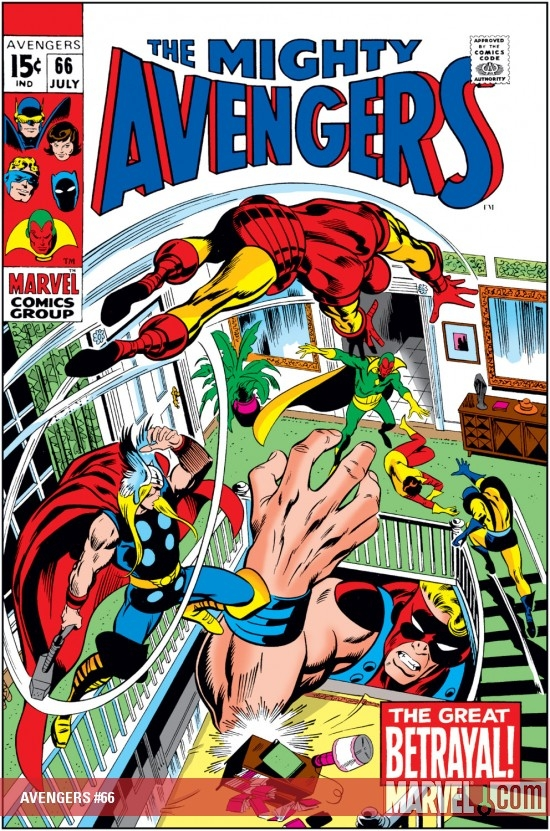 AVENGERS #66