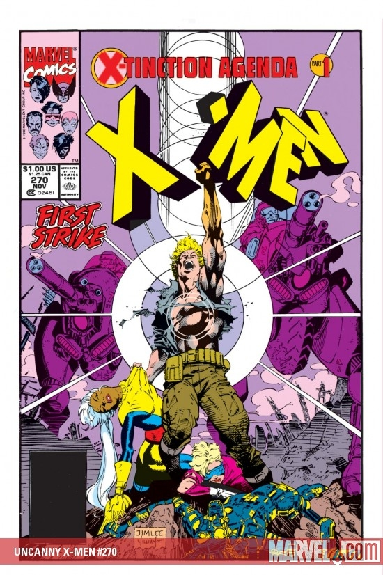 Uncanny X-Men (1963) #270