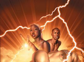 STORM (2008) #3 COVER