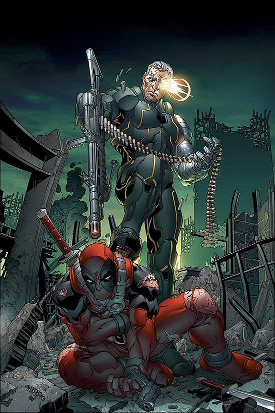 CABLE &amp; DEADPOOL (2007) #14 COVER