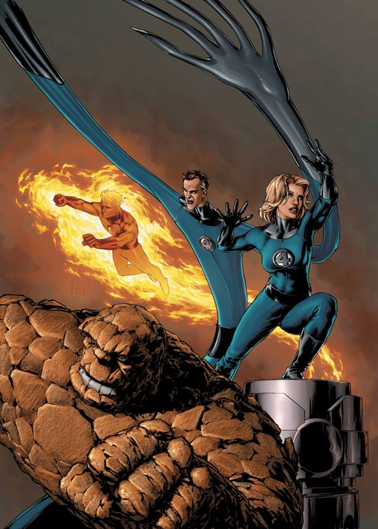 FANTASTIC FOUR (2002) #516 COVER
