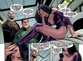 DARKSTAR AND THE WINTER GUARD #2 preview art by Steve Ellis