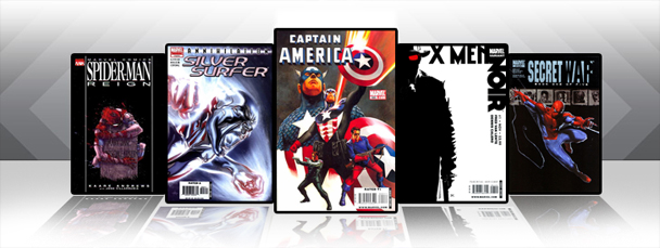 Marvel iPad/iPod App: Latest Titles 2/16/11