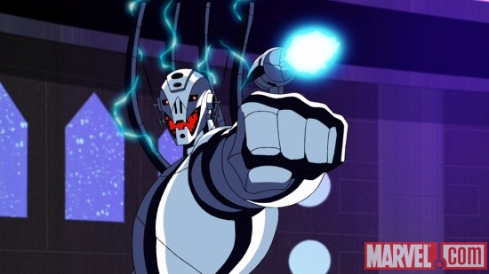 Screenshot of Ultron from The Avengers: Earth's Mightiest Heroes!