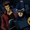 Wolverine and Cyclops in the Wolverine anime