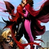 The Scarlet Witch & Wiccan by Jim Cheung