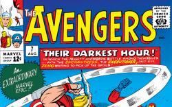 Avengers (1963) #7 cover