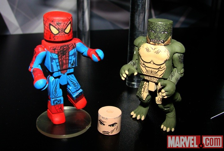 Spider-Man and Lizard Minimates from Diamond Select Toys