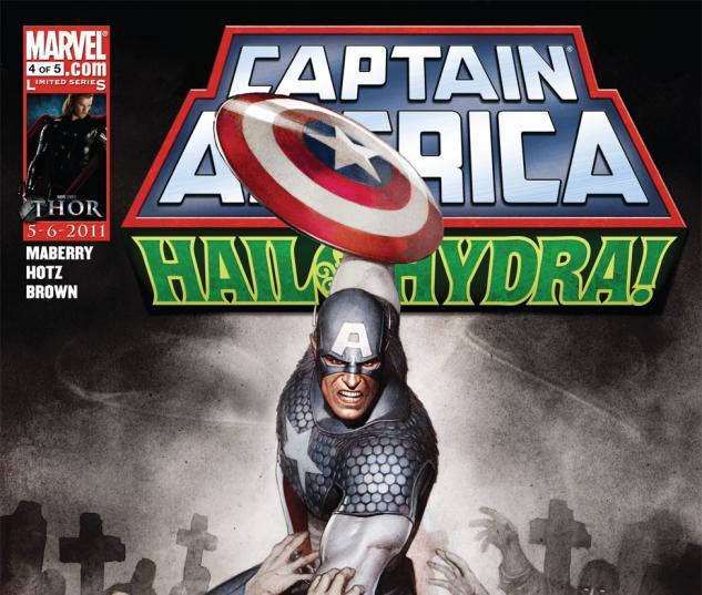 Captain America: Hail Hydra (2010) #4