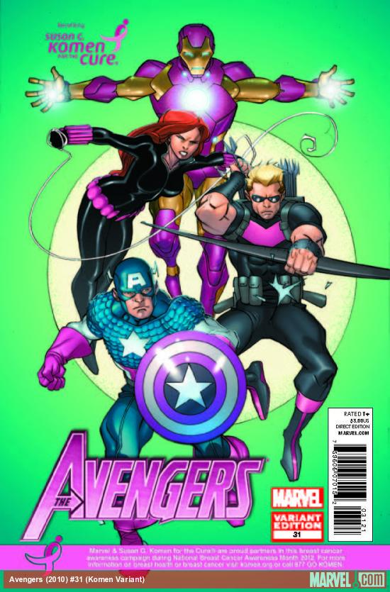 AVENGERS 31 KOMEN VARIANT (WITH DIGITAL CODE)