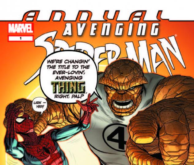 AVENGING SPIDER-MAN ANNUAL 1 (WITH DIGITAL CODE)