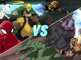Spidey & his team face the Sinister Six in Ultimate Spider-Man