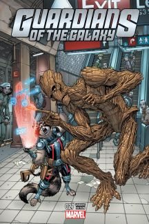 Guardians of the Galaxy #27  (Bradshaw Nyc Variant)