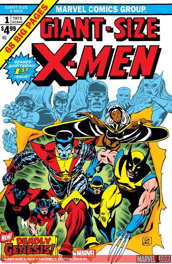 Giant-Size X-Men Facsimile Edition (2019) #1