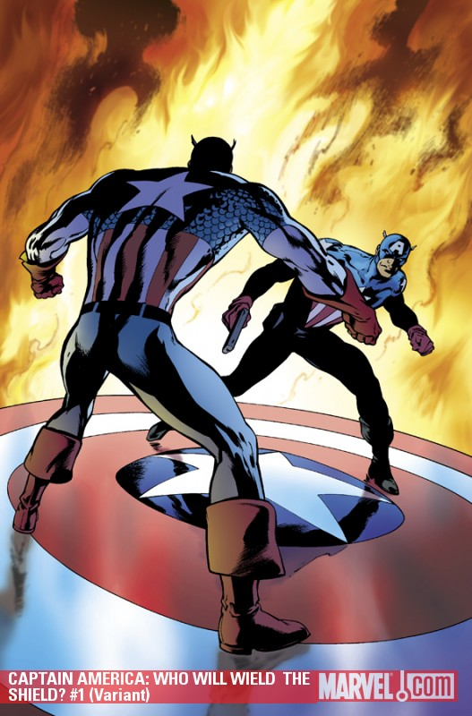 Captain America: Who Will Wield  the Shield? (2009) #1 (Variant)