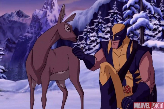 The Softer Side of Wolverine