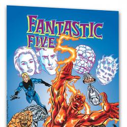 SPIDER-GIRL PRESENTS FANTASTIC FIVE: IN SEARCH OF DOOM COVER