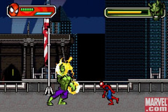 Spider-Man/Green Goblin, GBA