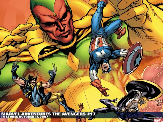 Marvel Adventures the Avengers (2006) #17 Wallpaper