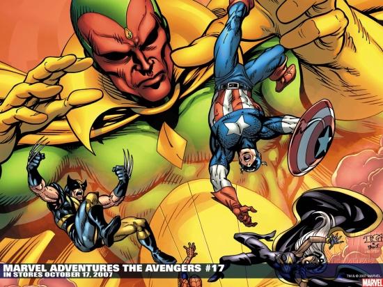 Marvel Adventures the Avengers (2006) #17 Wallpaper