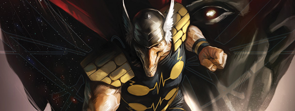 Beta ray bill entering eden