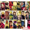 Image Featuring Vision, Hulkling, Wiccan, Iron Fist (Danny Rand), Wolverine, Iron Man, Wonder Man, Jessica Jones, The Winter Soldier, Patriot, Justice, Avengers, War Machine (James Rhodes), Hawkeye (Kate Bishop), Beast, Spider-Woman (Jessica Drew), Stature, Black Widow, Spider-Man