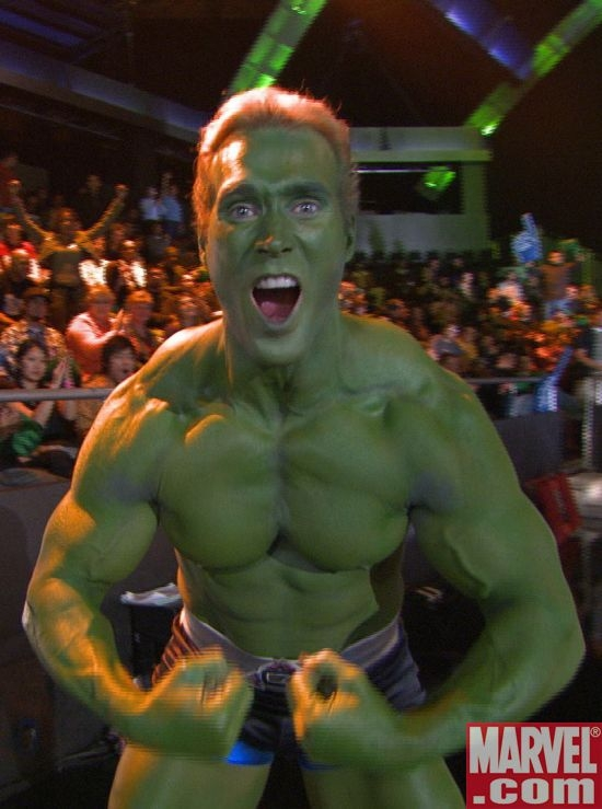 Titan Hulks out!