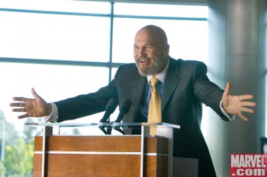 Obadiah Stane, at the pulpit