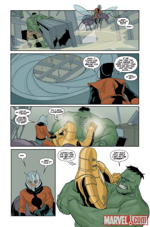 AVENGERS: THE ORIGIN #5 preview art by Phil Noto