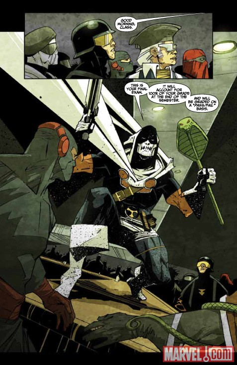 TASKMASTER #1 preview art by Jefte Palo 5